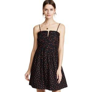 Madewell Strawberries Pintuck Dress